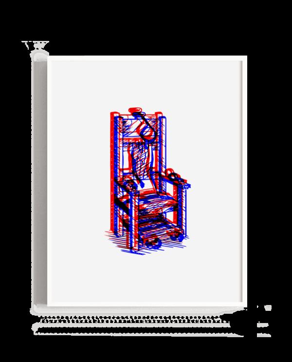 Representación de una silla eléctrica en visión 3d