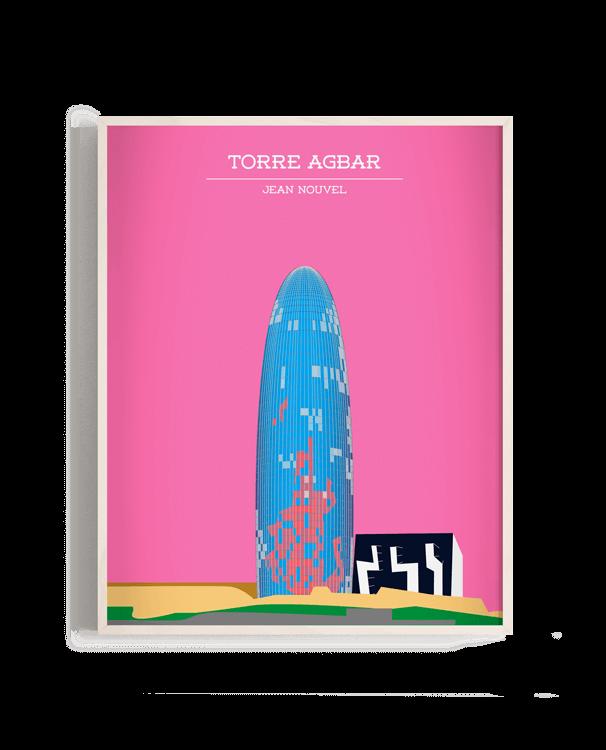 Ilustración vectorial de la Torre Agbar